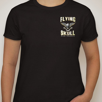 Flying Skull Tshirt